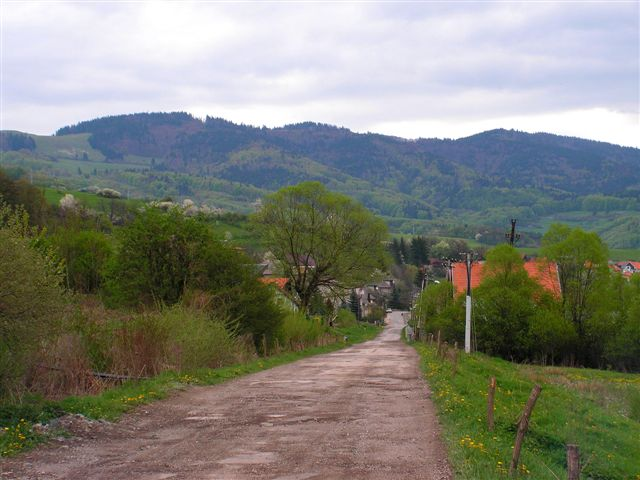 Na konci mesta nad ulicou Hronskou