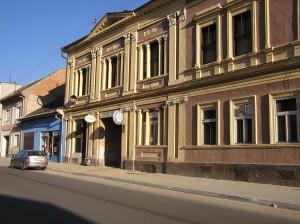 Reduta - budova terajšieho pohostinstva Baník