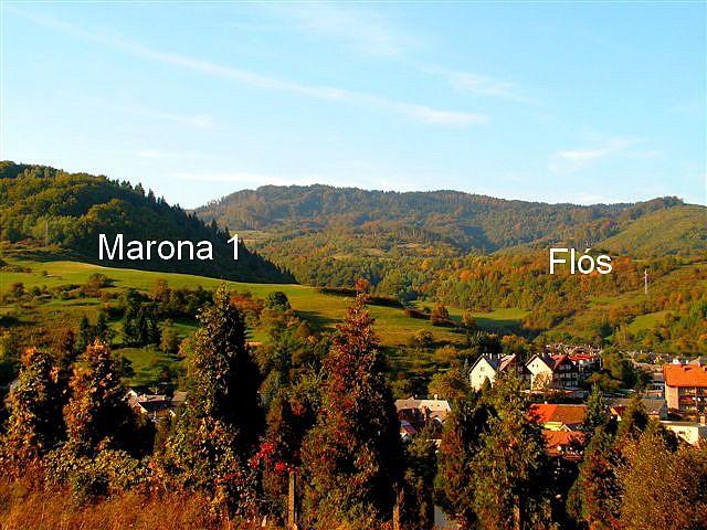 Marona 1.  a v pravej časti Flós