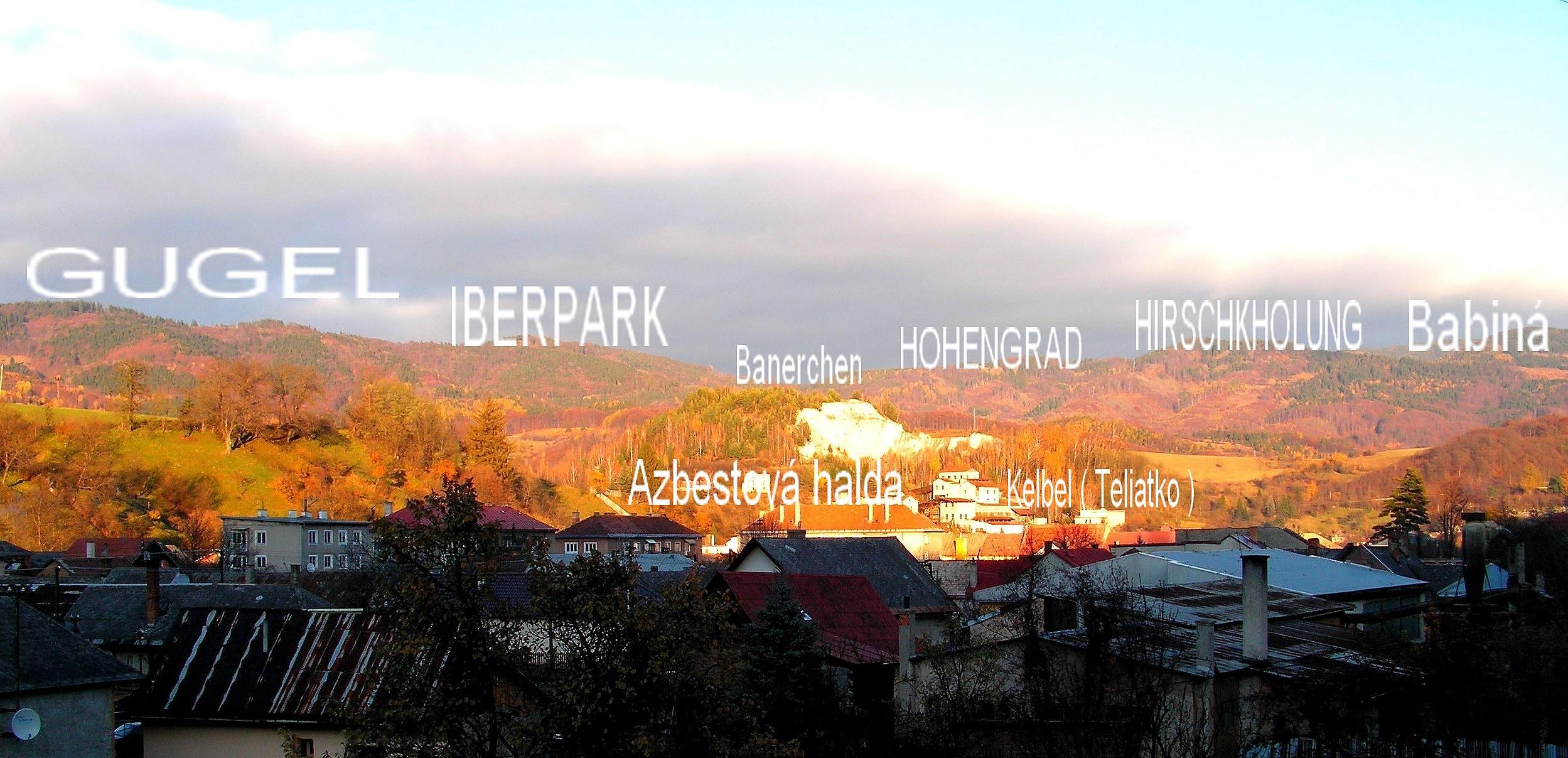 Gugel, Iberpark,Hohengrad,Hirschkholung, Azbest Kelbel