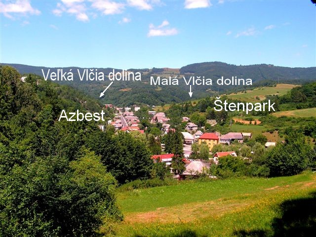 Vlčia dolina a Štenpark