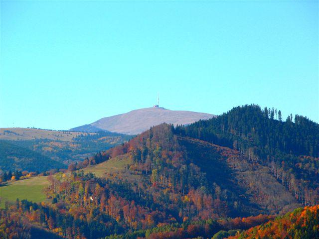 Pohľad z Šajboch od Gotthardovej