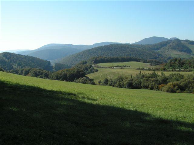 Pohľad na údolie Štenzajfu z pod Rovne